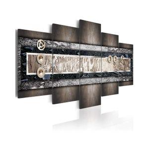 TABLEAU - TOILE Tableau Couleurs De La Terre - Dimension - 200x100