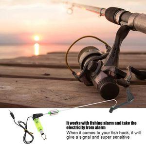 OUTILLAGE PÊCHE Alarme LED de morsure de poisson Indicateurs lumin