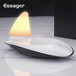 CHARGEUR TÉLÉPHONE LED Night Lamp Qi Chargeur sans fil pour iPhone 11