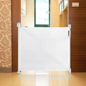 BARRIÈRE DE SÉCURITÉ  Safetots Barrière De Sécurité Enroulable Blanc 0cm