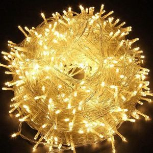 GUIRLANDE D'EXTÉRIEUR Guirlande Lumineuses 100M 600 LEDs Etanche en Bass