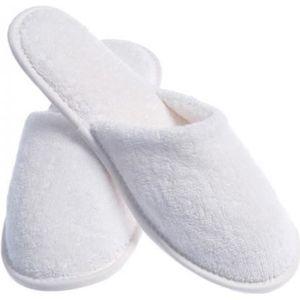 CHAUSSON - PANTOUFLE LOT de 100 paires de Chaussons fermés pantoufle ép