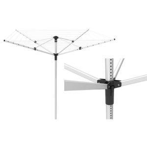 FIL À LINGE - ÉTENDOIR Etendoir à linge parapluie 40 m en aluminium
