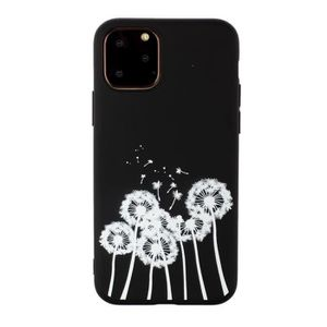 COQUE - BUMPER Coque iPhone 11,Pissenlit Ultra Slim Souple Anti R
