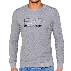 PULL EA7 ARMANI PULL GRIS CLAIR