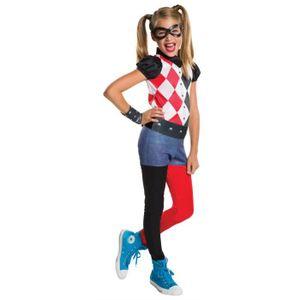 DÉGUISEMENT - PANOPLIE DC pour enfants de Rubie Harley Quinn Costume, Moy