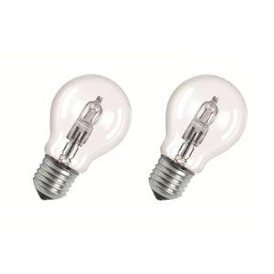 AMPOULE - LED OSRAM-Lot de 2 Ampoules Halogène Eco Standard E27
