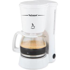 CAFETIÈRE TECHWOOD TCA-682 Cafetière filtre - Blanc