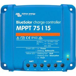 BATTERIE MOTEUR VICTRON Régulateur Solaire MPPT - 75/15 - 12/24V -