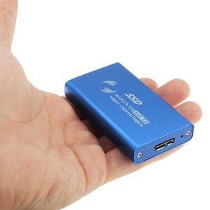 HOUSSE DISQUE DUR EXT. Boitier disque dur USB 3.0 6 Gb s mSATA Solid Stat