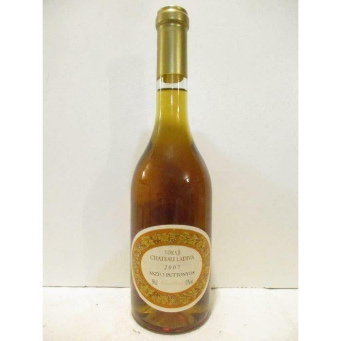 50 cl aszu château ladiva 3 puttonyos liquoreux 2007 - tokaji hongrie