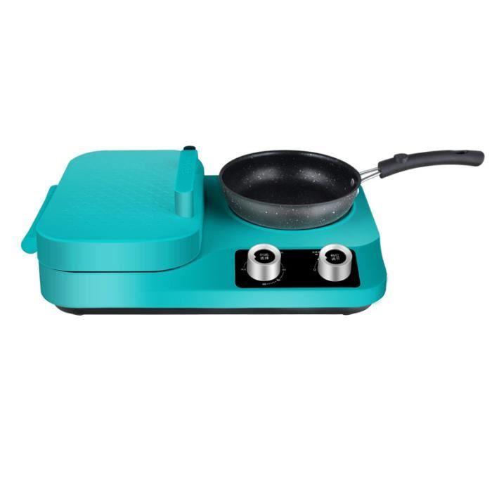 Machine multifonctionnelle de petit déjeuner de sandwich petite machine de cuisson de pain de pain grillé de ménage