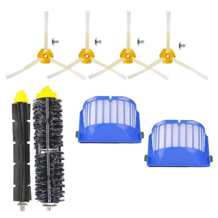 Unny 12pcs Kit Pièces accessoires Pour iRobot Roomba 600 Series 605 610 615 616 620 625 630 631 632 639 650 651 660 670 680 681