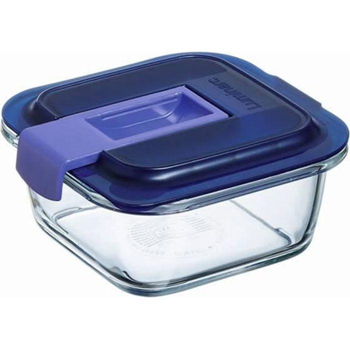 Boîte carré Easy Box 38 cl - Luminarc 12 Transparent
