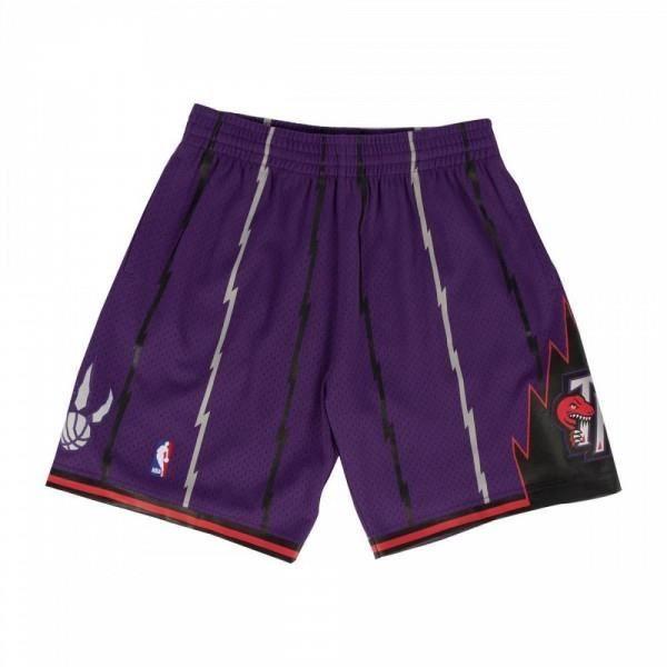 Short NBA Toronto Raptors 1998-99 Mitchell amp Ness Swingman Violet pour Homme