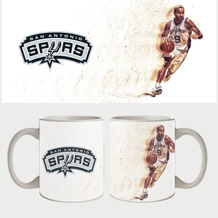 Mug Fan de Spurs Tony Parker dispertion