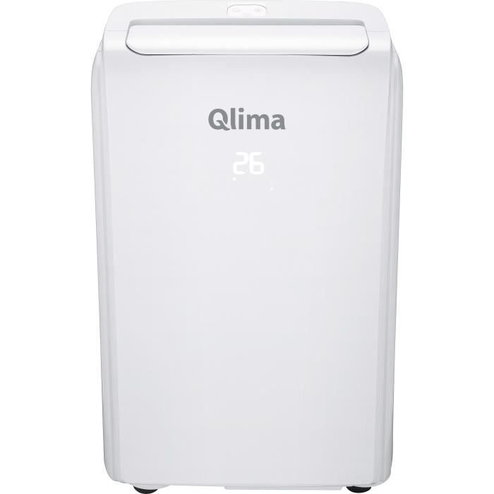 Qlima Climatiseur mobile P522 790 W Blanc