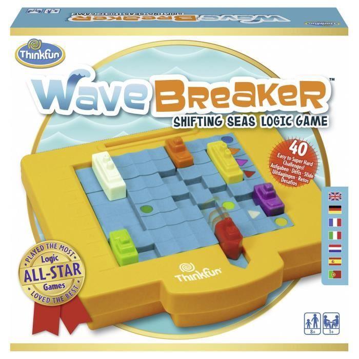 WAVE BREAKER Jeu de casse-tête Ravensburger - 1 joueur et plus - 8 ans et +
