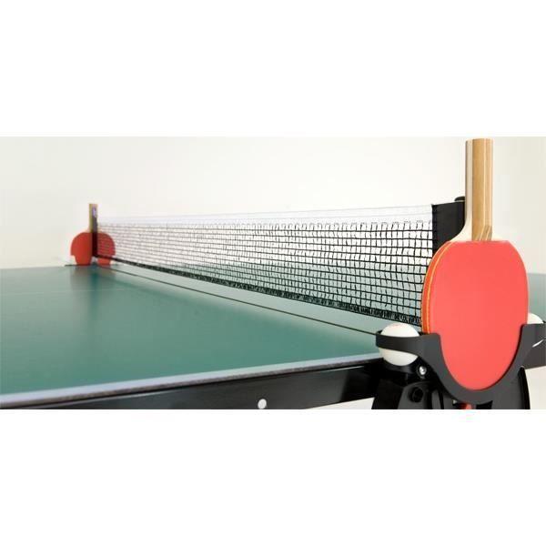 filet de tennis de table Basic stationär neutre 180 cm noir