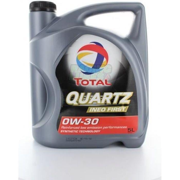 Total Quartz Ineo First 0W30 - Conditionnement - Bidon de 5 L