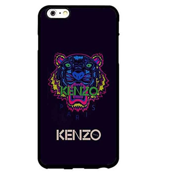 coque iphone 6 6s case kenzo logo durable tpu mignon t l phone couverture ppnnolalab achat. Black Bedroom Furniture Sets. Home Design Ideas