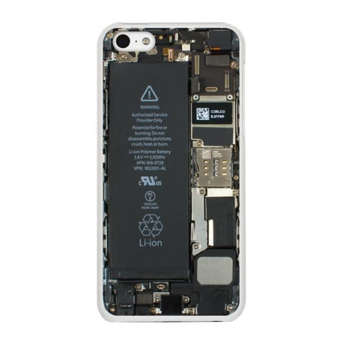 Fa ade motif circuit int rieur pour iphone 5c achat for Interieur iphone