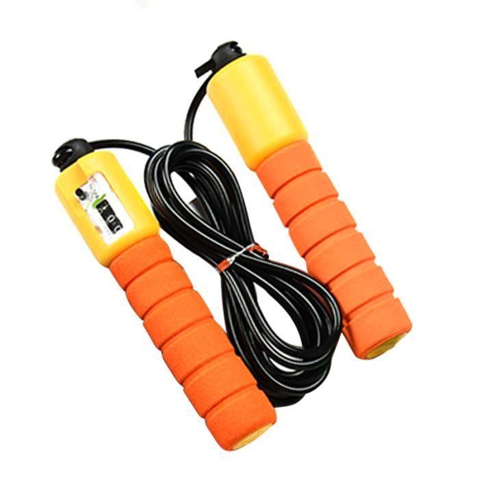 Fitness Activité Orange Enfants Corde à sauter avec compteur enfants Exercice