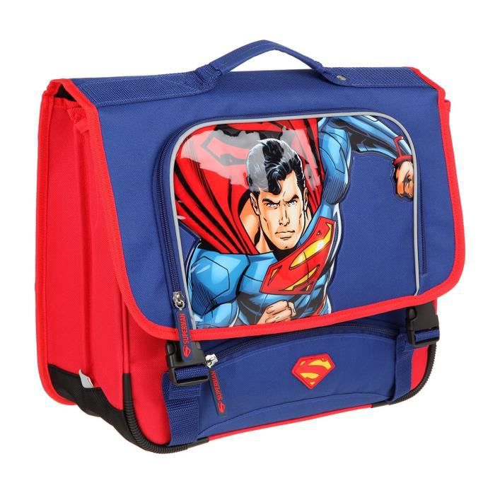 Cartable SUPERMAN 41cm 2 Compartiments