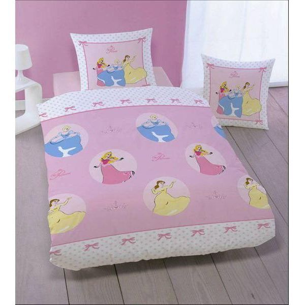 housse de couette disney princess menuet avec taie achat vente housse de couette disney. Black Bedroom Furniture Sets. Home Design Ideas
