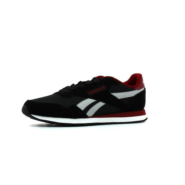 542ae08f23b31 Baskets basses Reebok Royal Ultra Noir Noir - Achat   Vente basket ...