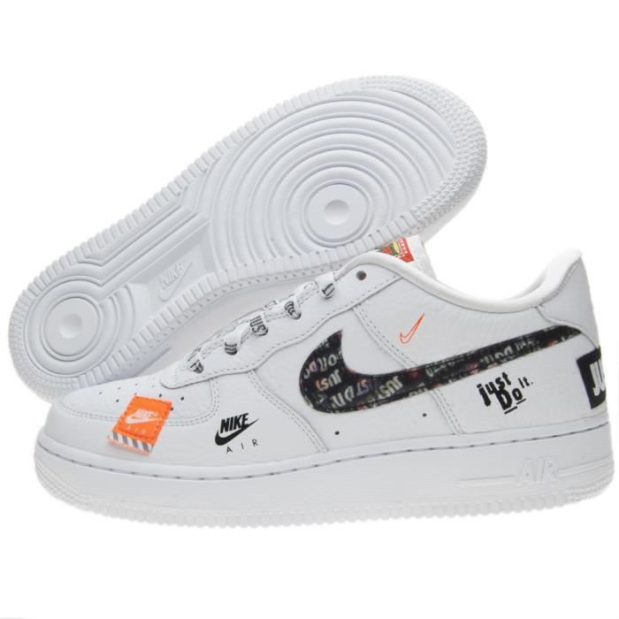 Basket Nike Air Force 1 Just Do It Premium (Gs) AO3977-100 ...