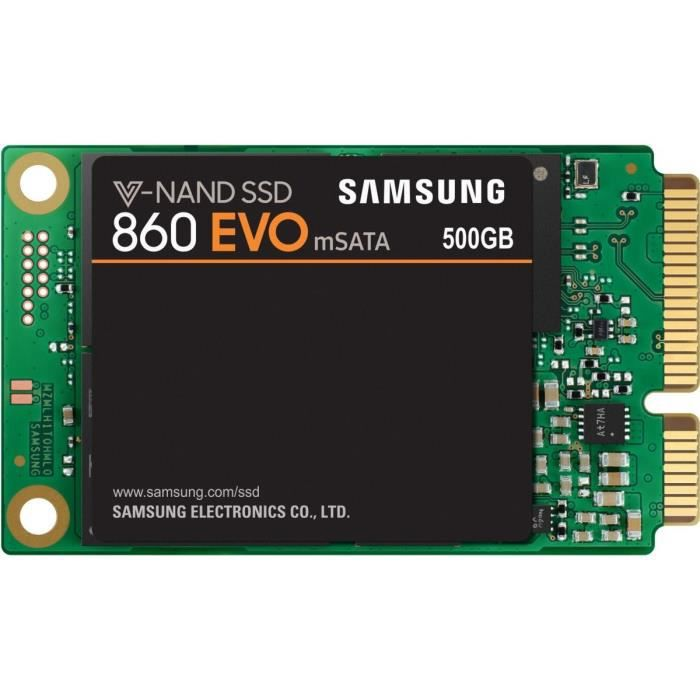 DISQUE DUR SSD SAMSUNG SSD interne 860 EVO mSATA - 500Go
