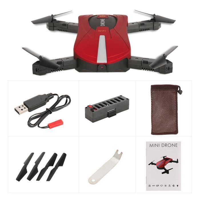 Jdtoys Jd 18 Rc Drone De Poche 0 3mp Caméra Wifi Fpv Quadcopter Pliable Selfie G Capteur Baromètre Hauteur Maintien Achat Vente Drone Cdiscount