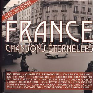 CD COMPILATION FRANCE CHANSONS ETERNELLES - Compilation