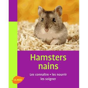 LIVRE ANIMAUX Hamsters nains