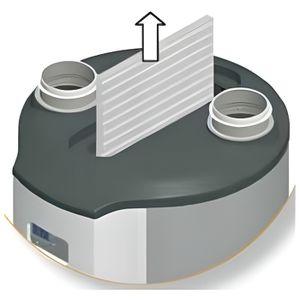 VMC - ACCESSOIRES VMC Atlantic filtre AERAULIX 2 (ref:412132)