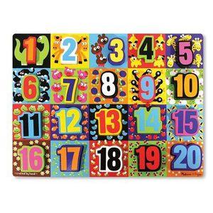 PUZZLE Melissa Doug - 13832 - Puzzle - Jumbo Numbers C…