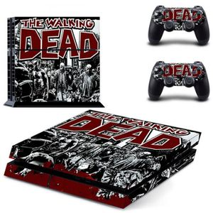 STICKER - SKIN CONSOLE Sticker-decal Autocollant Ps4 - the walking dead B
