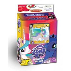 CARTE A COLLECTIONNER MY LITTLE PONY CANTERLOT NIGHTS THEME DECK, ENG…