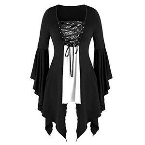 Noir Killstar Soutien-Gorge-Top Black MAGICA-Gothique-Pentagram-Court
