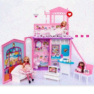 maison de reve de barbie achat vente jeux et jouets pas chers. Black Bedroom Furniture Sets. Home Design Ideas