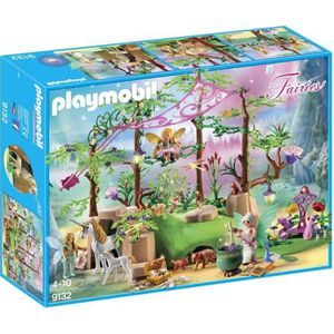 UNIVERS MINIATURE PLAYMOBIL 9132 - Fairies - Forêt Enchantée