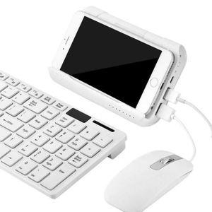 PACK CLAVIER - SOURIS Convertisseur De Clavier USB Portable Clavier Et S
