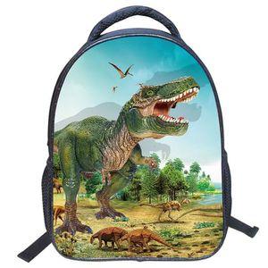 SAC À DOS Pinji Cartable enfant Sac à Dos Motif Dinosaure 30