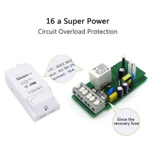 INTERRUPTEUR ÉLECTRO. KEKE-2pcs Sonoff Pow Interrupteur sans fil WiFi In