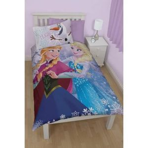 housse de couette la reine des neiges 100 coton achat vente housse de couette la reine des. Black Bedroom Furniture Sets. Home Design Ideas