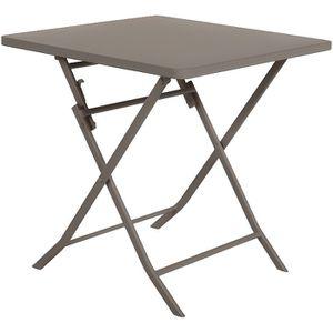 TABLE DE JARDIN  Table de jardin carrée Greensboro 70 x 70 cm Tonka