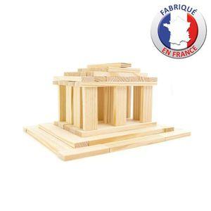 ASSEMBLAGE CONSTRUCTION JEUJURA - TECAP 3XL - 120 planchettes en bois