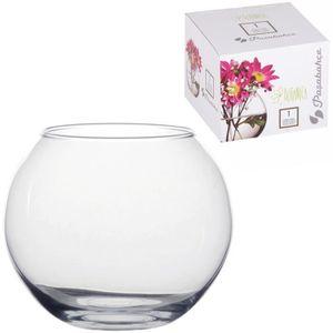 VASE - SOLIFLORE Vase Tendance En Verre Aspect Cristal design Forme