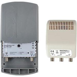 REPETEUR DE SIGNAL SEDEA Kit Amplificateur TNT Réglable 1E 2S Gain 38